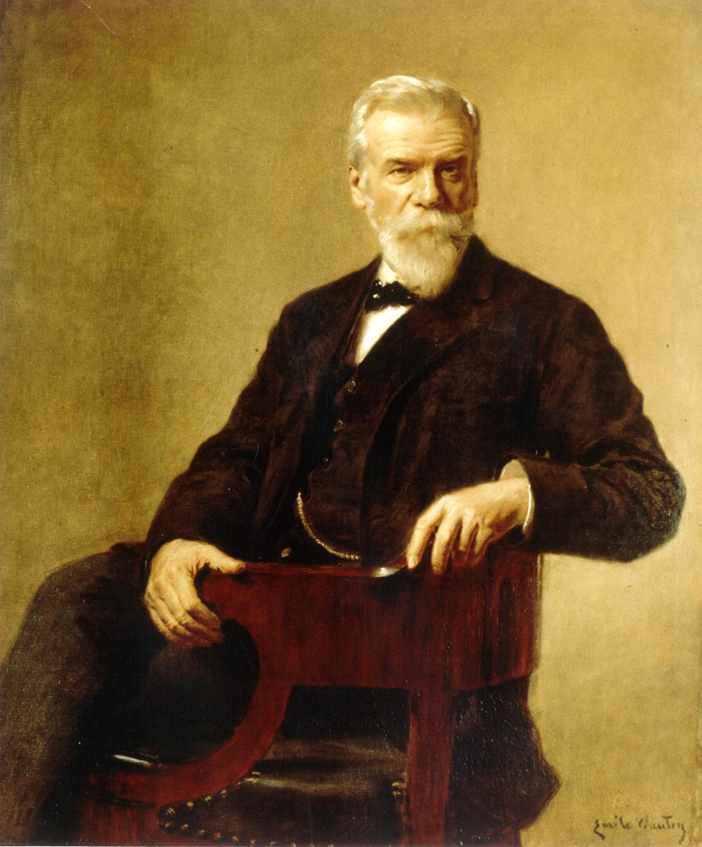 Ernest Solvay by E. Wauters